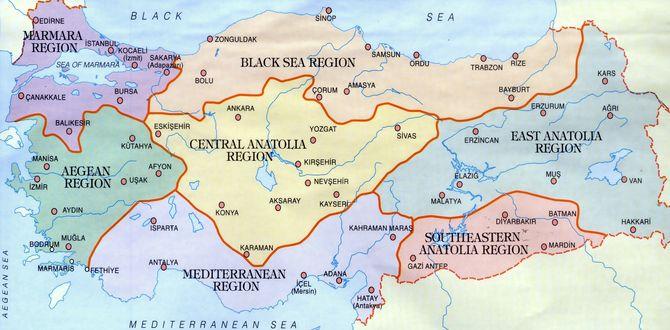 Zemljopisna Karta Turske Karta