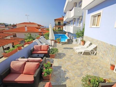 Halkidiki Sitonija Neos Marmaras ApartHotel Clio (15)-s