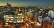 Madrid's city lights, Madrid car rental1568464