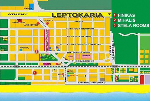 Grcka- Olimpska regija- Leptokarija- apartmani- Studija Finikas- 15