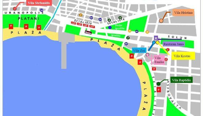 stavros mapa Vila Hristina, Stavros   Amos travel stavros mapa