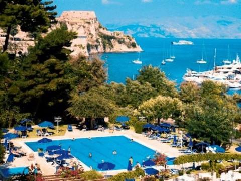Grcka- Krf- grad Krf- hoteli- Corfu Palace- 40- s