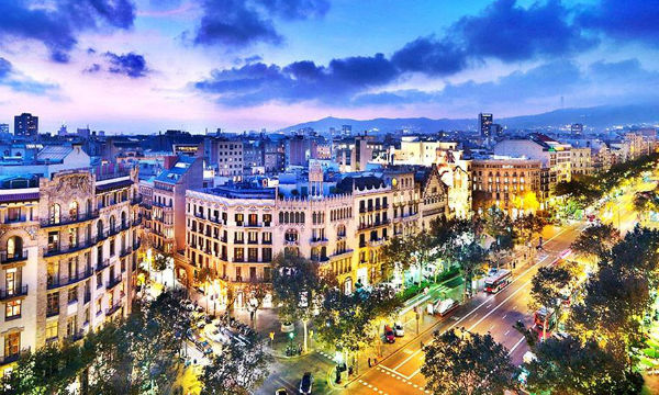 Barselona Nova godina 2019.