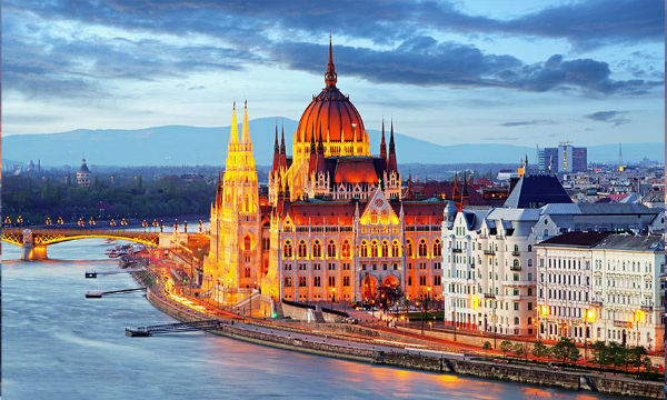 Budimpešta Nova godina 2019.