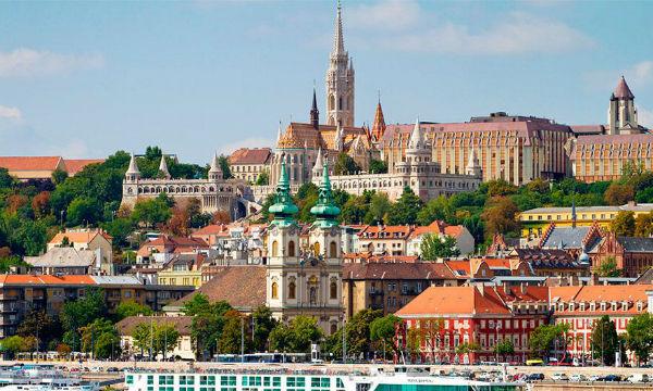 Budimpešta Nova godina 2020.