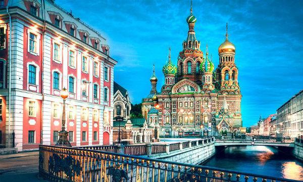 Moskva - Sankt Peterburg Prvi maj 2019.