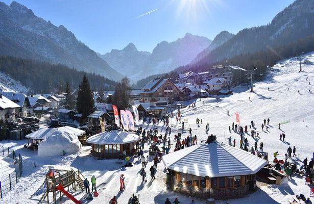 Kranjska Gora - zimovanje - skijanje 2020.